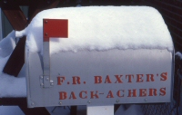 F.R. Baxter Mailbox