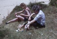 vintage family slides